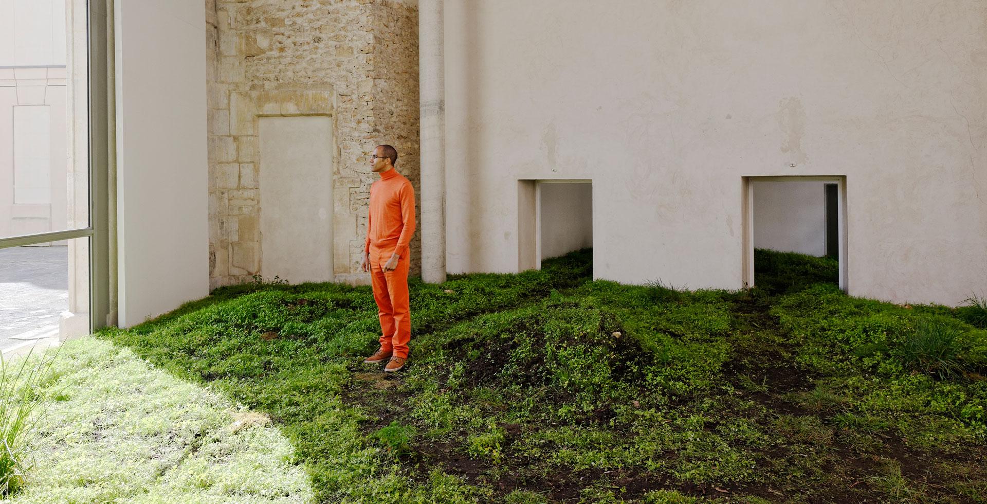 lacune féconde site-specific installation, La Maréchalerie art center, Versailles, France