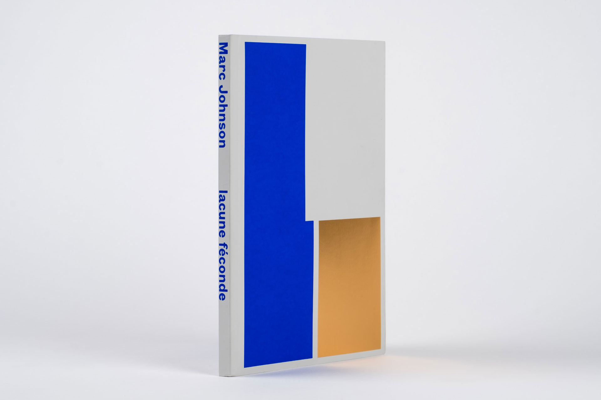 lacune féconde, fecund lacuna artist book by Marc Johnson