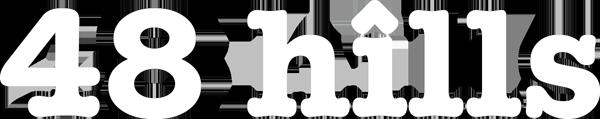 48 hills logo white