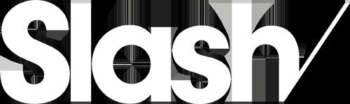 slash paris logo blanc