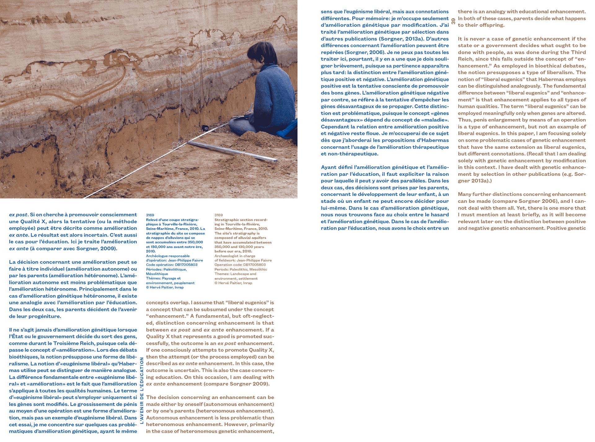"""""""lacune féconde"""" publication de Marc Johnson édité par Analogues et la Maréchalerie, centre d'art contemporain de Versailles"""